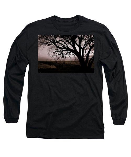 Long Sleeve T-Shirt featuring the photograph High Cliff Beauty by Lauren Radke