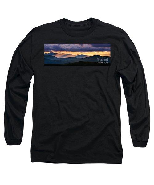 Scottish Highlands From Meall Nan Tarmachan Long Sleeve T-Shirt