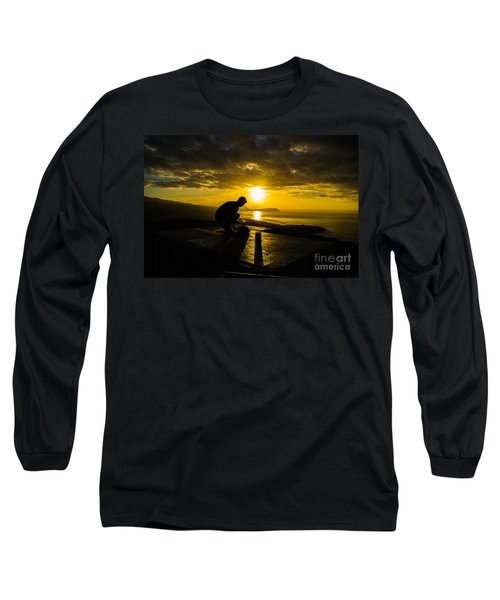 Hiker @ Diamondhead Long Sleeve T-Shirt