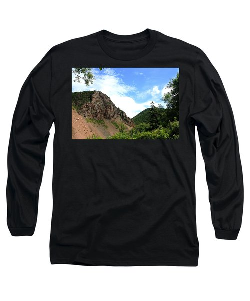 Hills Long Sleeve T-Shirt by Jason Lees