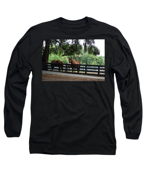 Hilton Head Island Beauty Long Sleeve T-Shirt
