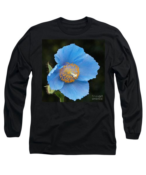 Himalayan Gift -- Meconopsis Poppy Long Sleeve T-Shirt