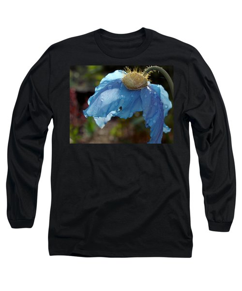 Blue Allure Long Sleeve T-Shirt