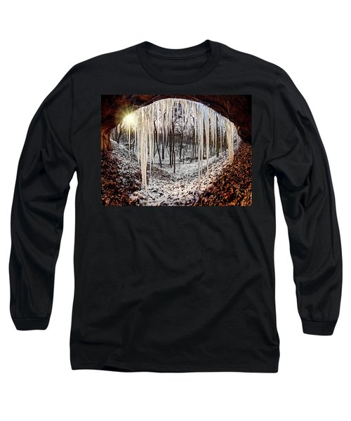 Hinding From Winter Long Sleeve T-Shirt