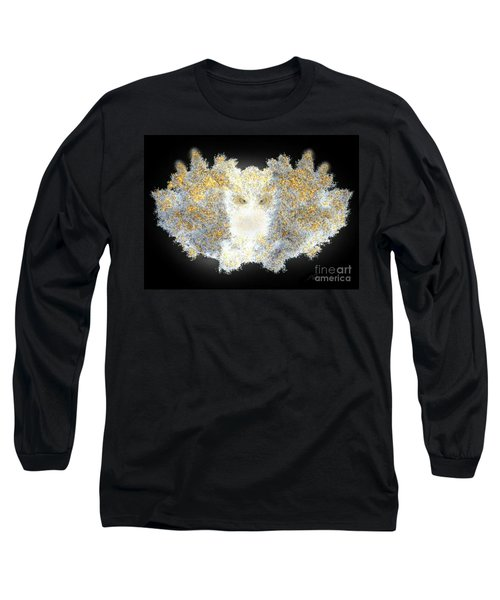 Long Sleeve T-Shirt featuring the digital art Hint Of Owl by Steed Edwards