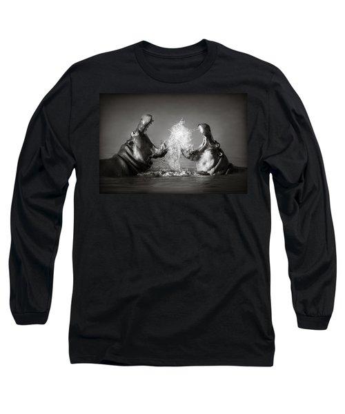 Hippo's Fighting Long Sleeve T-Shirt