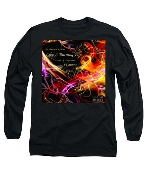 His Word In My Heart Long Sleeve T-Shirt