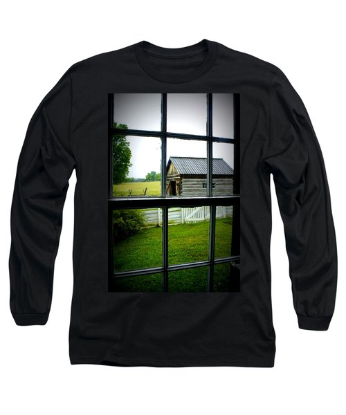 Long Sleeve T-Shirt featuring the photograph Historic New Market by Laurie Perry