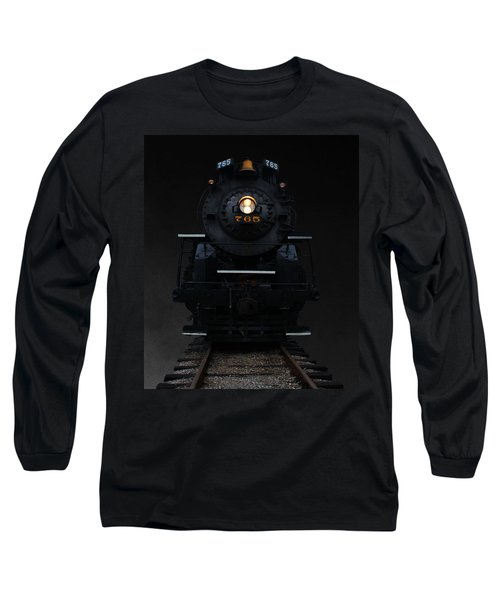 Long Sleeve T-Shirt featuring the photograph Historical 765 Steam Engine by Rowana Ray