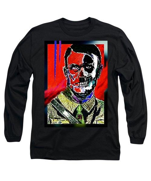 Hitler  - The  Face  Of  Evil Long Sleeve T-Shirt