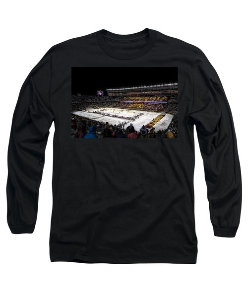 Hockey City Classic Long Sleeve T-Shirt by Tom Gort
