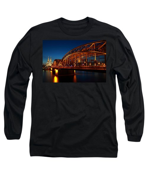 Hohenzollern Bridge Long Sleeve T-Shirt