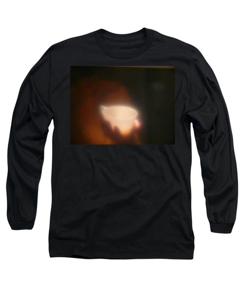 Long Sleeve T-Shirt featuring the photograph Holding The Light by Evelyn Tambour