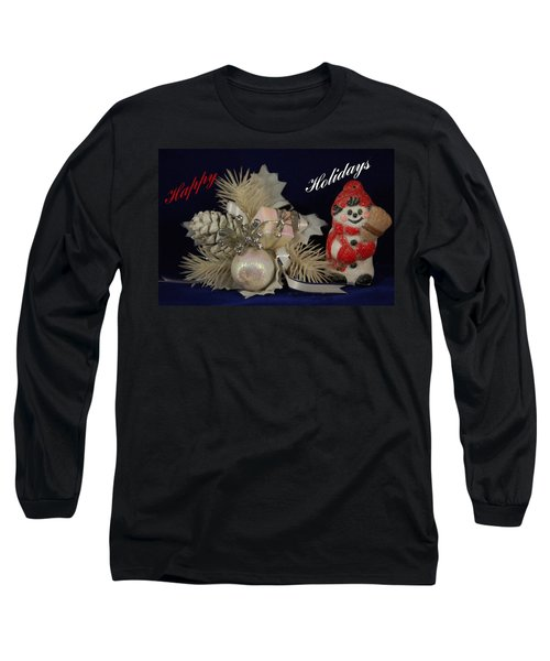 Holiday Greeting Long Sleeve T-Shirt