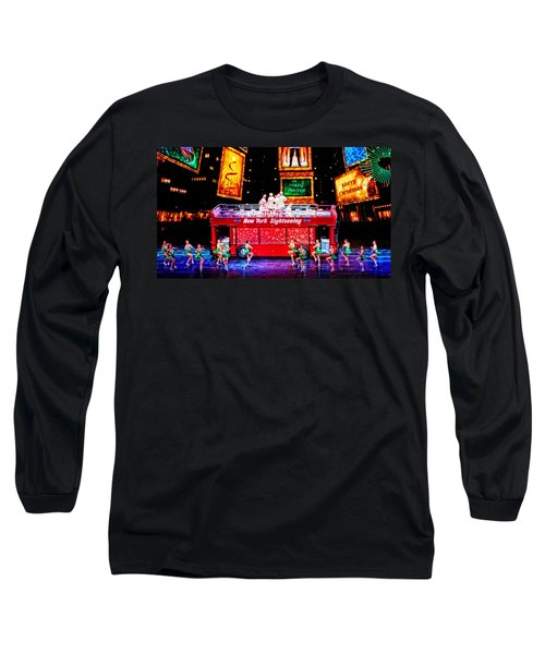 Holiday Sightseeing Long Sleeve T-Shirt by Mike Martin