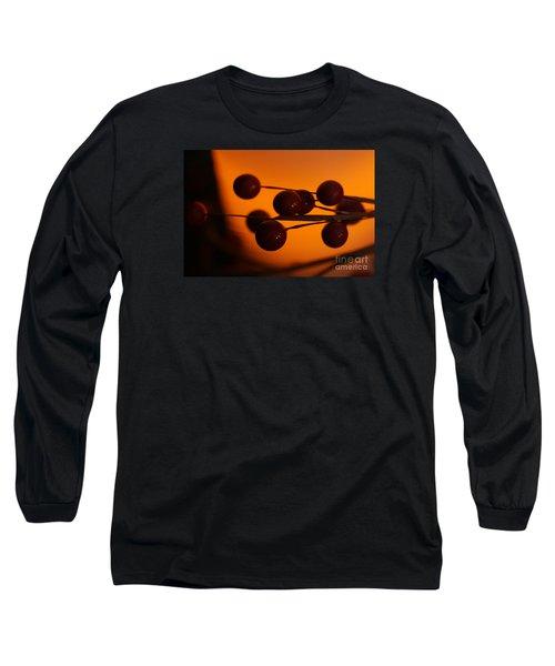 Holiday Warmth 1 Long Sleeve T-Shirt by Linda Shafer