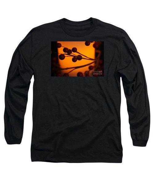 Holiday Warmth 2 Long Sleeve T-Shirt by Linda Shafer