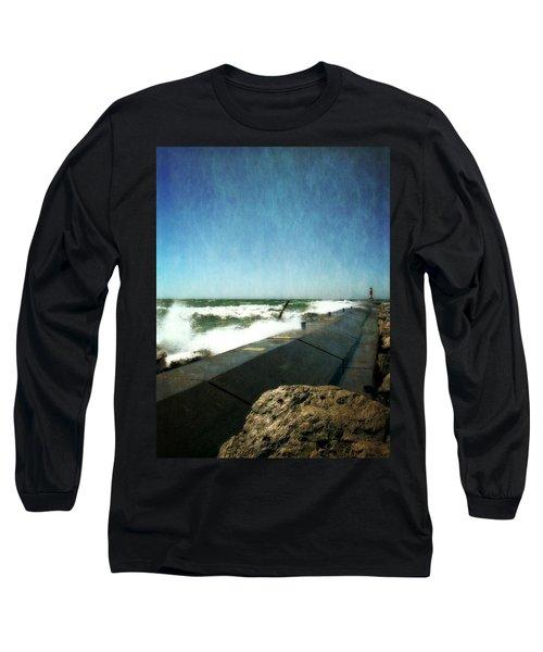 Holland Harbor Breakwater Long Sleeve T-Shirt