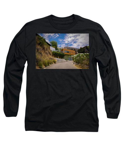 Long Sleeve T-Shirt featuring the digital art Hollywood  by Gandz Photography