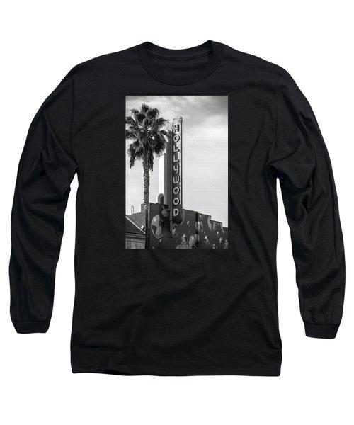 Hollywood Landmarks - Hollywood Theater Long Sleeve T-Shirt