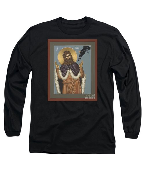 Holy Prophet Elijah 009 Long Sleeve T-Shirt by William Hart McNichols