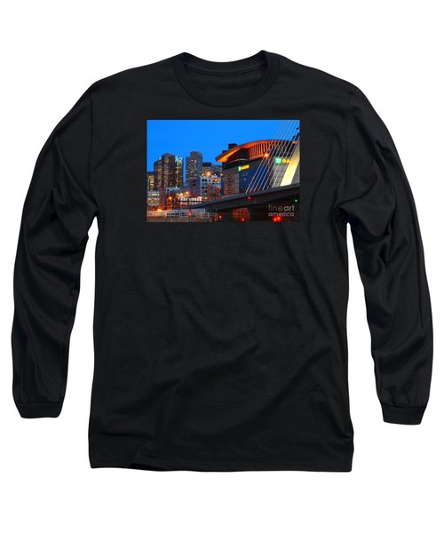 Home Of The Celtics And Bruins Long Sleeve T-Shirt