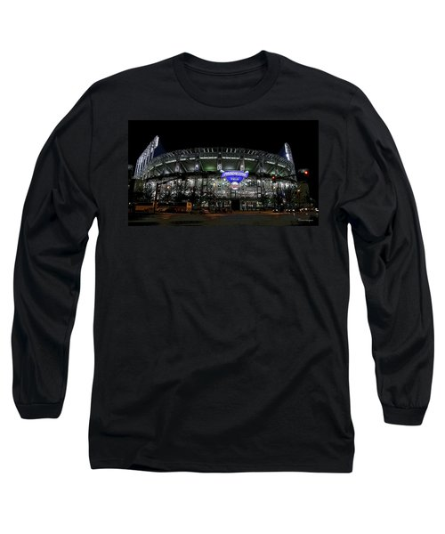 Home Of The Cleveland Indians Long Sleeve T-Shirt by Terri Harper