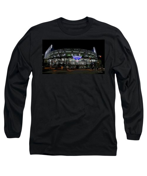 Home Of The Cleveland Indians Long Sleeve T-Shirt