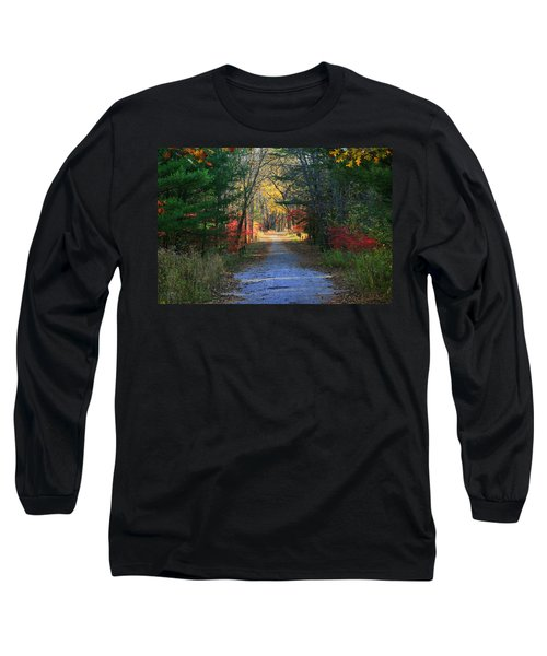 Homeward Bound Long Sleeve T-Shirt by Neal Eslinger