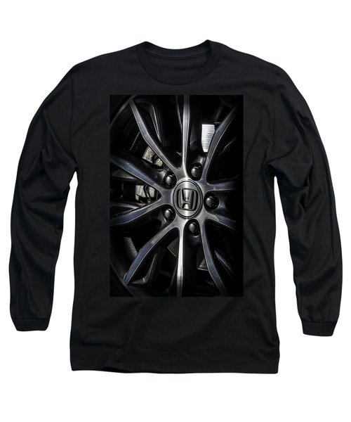 Honda Wheel Long Sleeve T-Shirt
