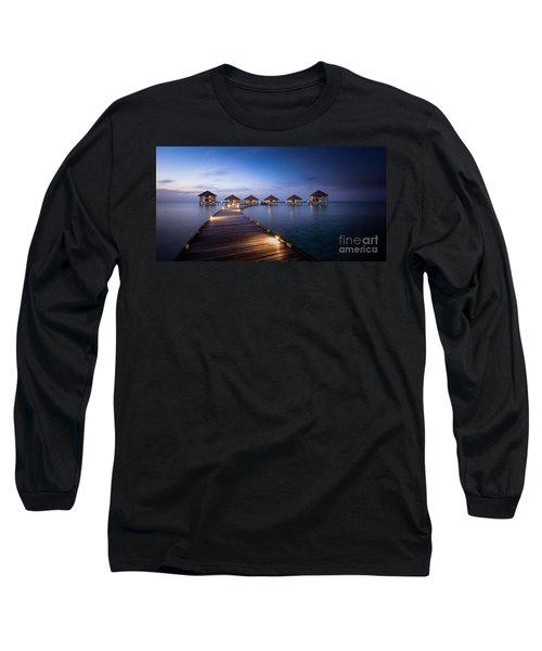 Honeymooners Paradise Long Sleeve T-Shirt
