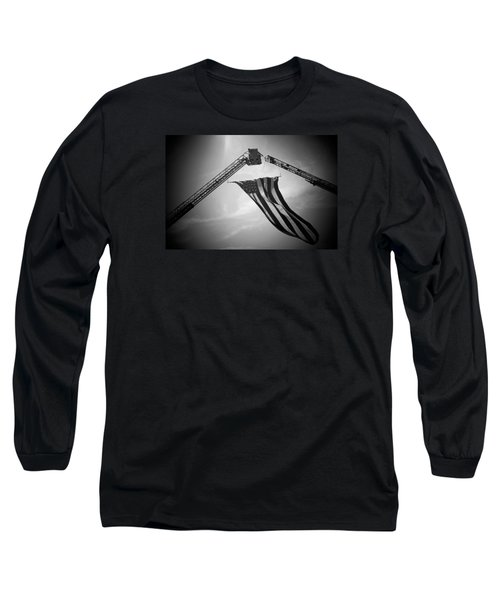 Honoring Those That Have Gone Before Long Sleeve T-Shirt by Susan  McMenamin