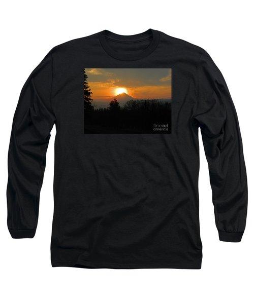 Hood On Fire Long Sleeve T-Shirt