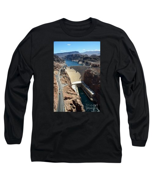 Hoover Dam Long Sleeve T-Shirt by RicardMN Photography