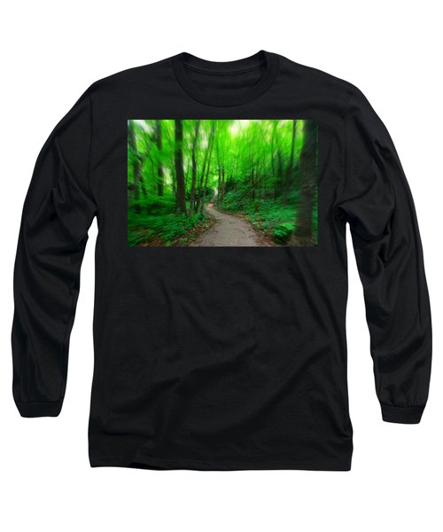 Hopkins Path Long Sleeve T-Shirt by Amanda Stadther