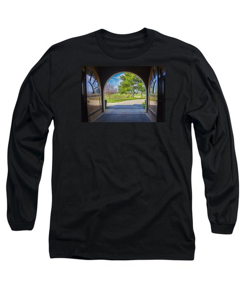 Horse Barn Long Sleeve T-Shirt