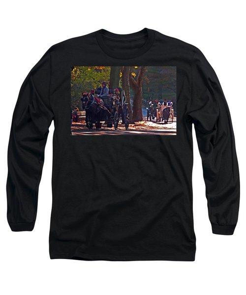 Horse Play Long Sleeve T-Shirt