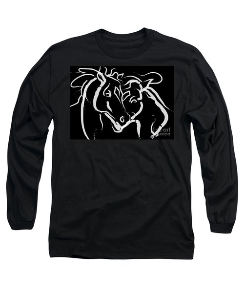Horse- Together 5 Long Sleeve T-Shirt