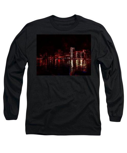 Hot City Night Long Sleeve T-Shirt