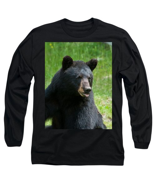Hot Day In Bear Country Long Sleeve T-Shirt