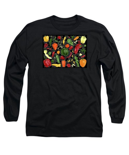 Hot For Chilis Long Sleeve T-Shirt