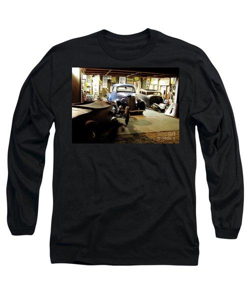 Hot Rod Garage Long Sleeve T-Shirt