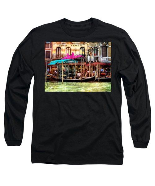 Hotel Marconi.venice. Long Sleeve T-Shirt