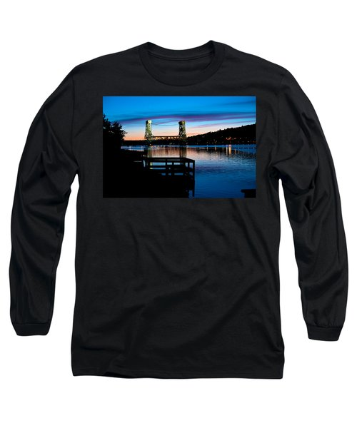 Houghton Bridge Sunset Long Sleeve T-Shirt