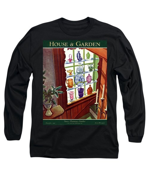 House And Garden House Planning Number Cover Long Sleeve T-Shirt