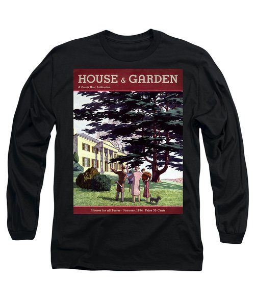 House And Garden Houses For All Tastes Cover Long Sleeve T-Shirt