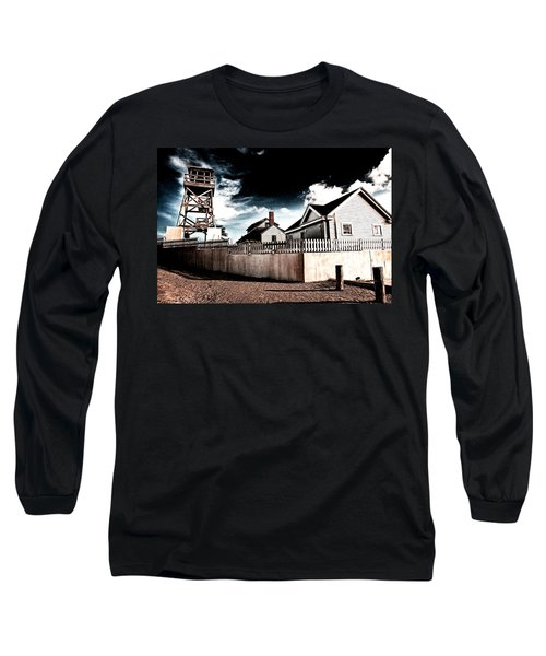 House Of Refuge Long Sleeve T-Shirt by Bill Howard