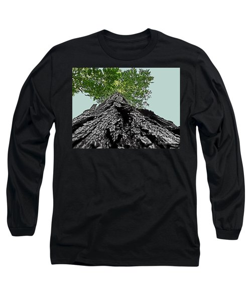 How A Chipmunk Sees A Tree Long Sleeve T-Shirt