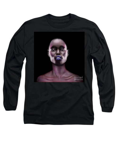 How Beautiful - The Color Purple Long Sleeve T-Shirt