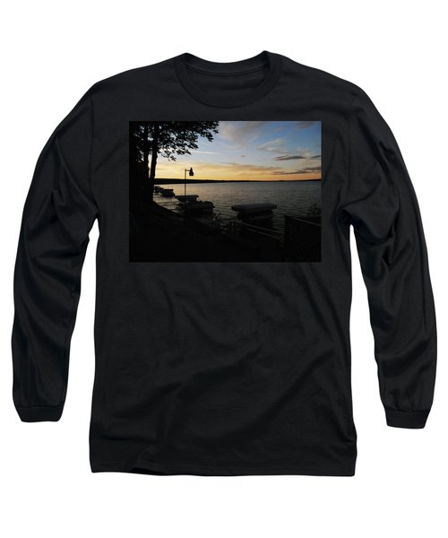 Hubbard Lake Sunset Long Sleeve T-Shirt
